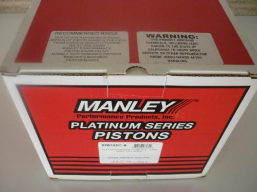 Manley Forged Alloy Pistons 5.4 lt