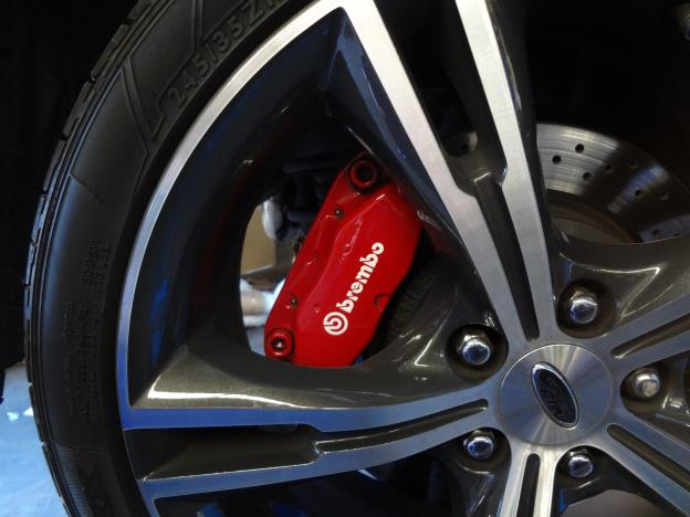 Brembo 4 spot rear brake upgrade FG GT & F6 with Disc upgrade