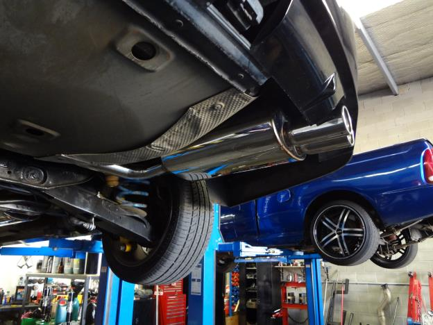 BA-BF XR8 & BA GT, cat back Exhaust System Stainless Steel duel 2.5 inch