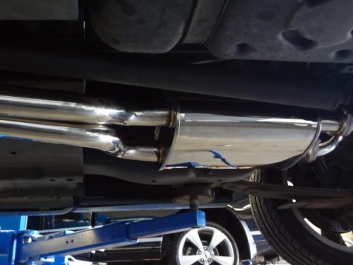 FG 5.4 lt XR8 & GS ute Cat back exhaust system mild steel
