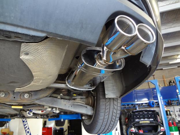 FG XR6 , XT and G6 4.0 lt Cat back 2.5 inch stainless steel exhaust system available for ute or sedan