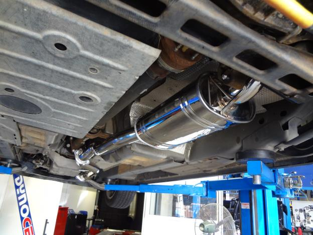 FG XR6 , XT and G6 4.0 lt Cat back 2.5 inch mild steel exhaust system available for ute or sedan