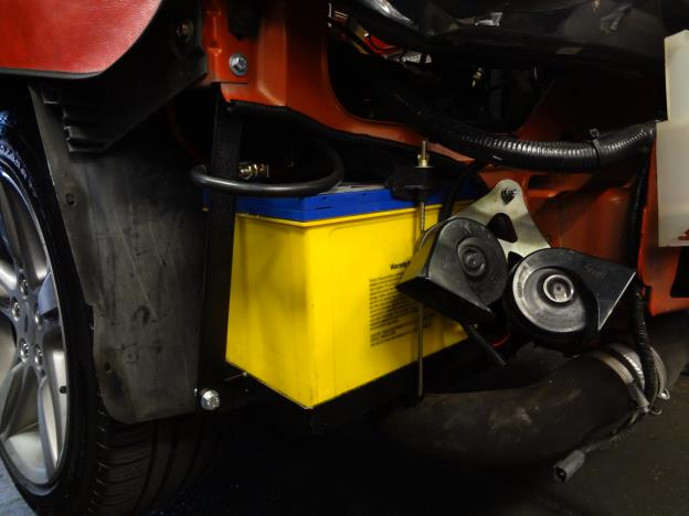 Battery relocation kit BA - BF