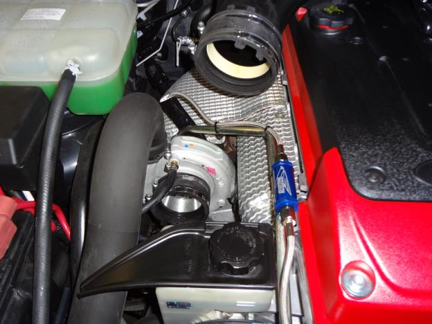 Oil Feed line to turbocharger suit FG XR6 Turbo / F6