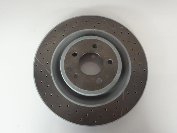 Brembo 4 spot brake kit front FG Only now with genuine Brembo discs