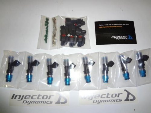 ID 1000 CC  Fuel Injector FG GS & GT 5.0 lt 8 x Injectors by injector Dynamics