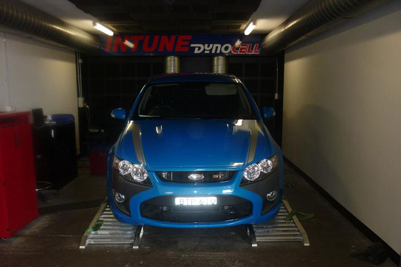 Intune Motorsport, Dyno Tuning for late model Falcons, Sydney