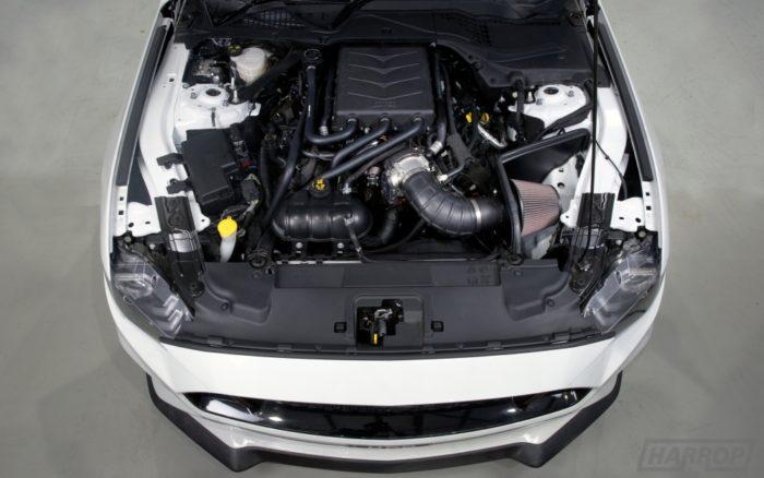 Display Harrop supercharger