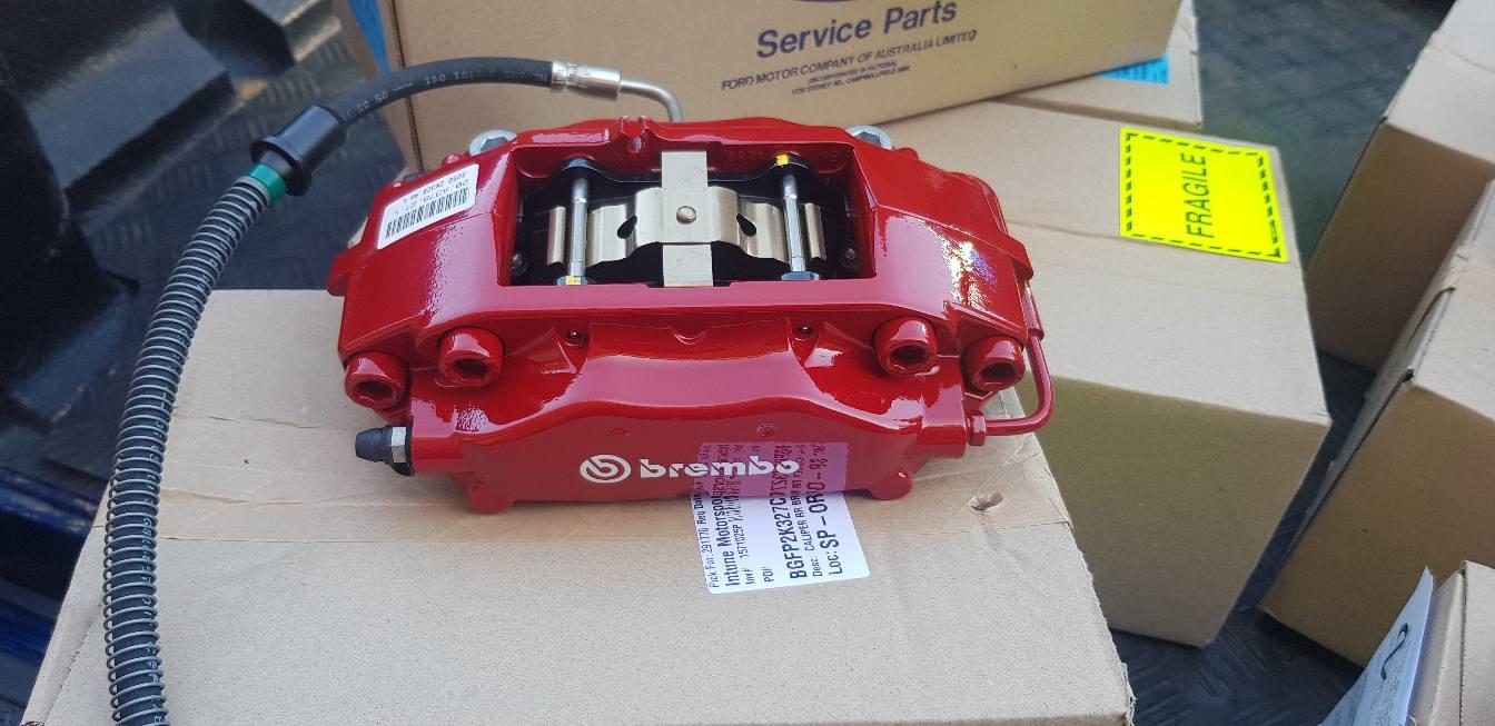 Brembo rear 4 piston caliper